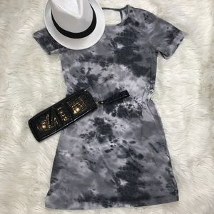 ASOS Tie Dye Tee Shirt Dress